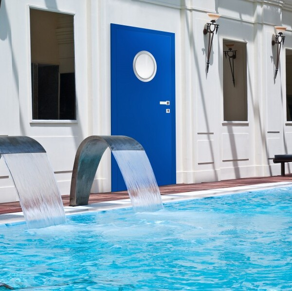 Drzwi basen